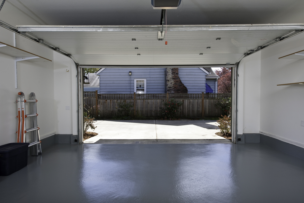 Utah garage floor concrete repair