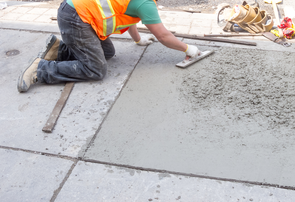 What is the cheapest way to repair concrete in Utah