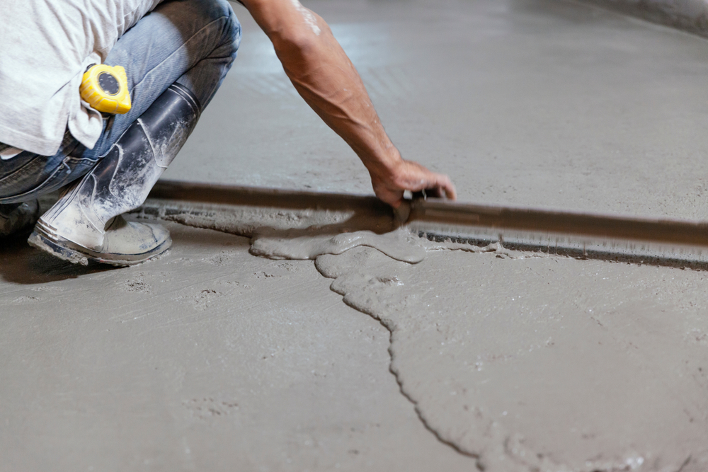 Utah garage floor leveling