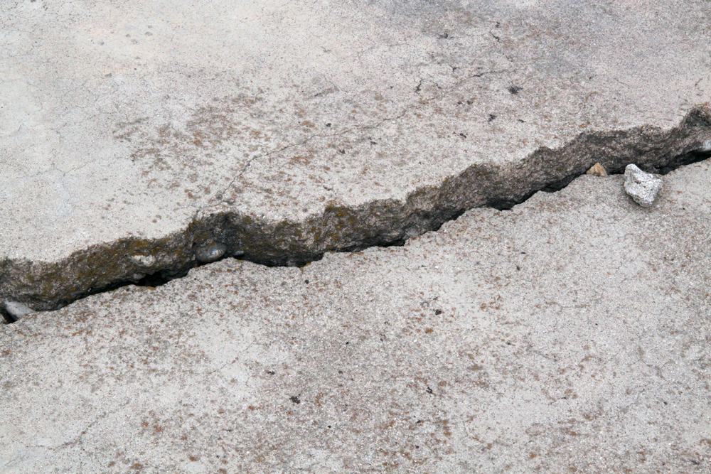 Options for settled concrete repair