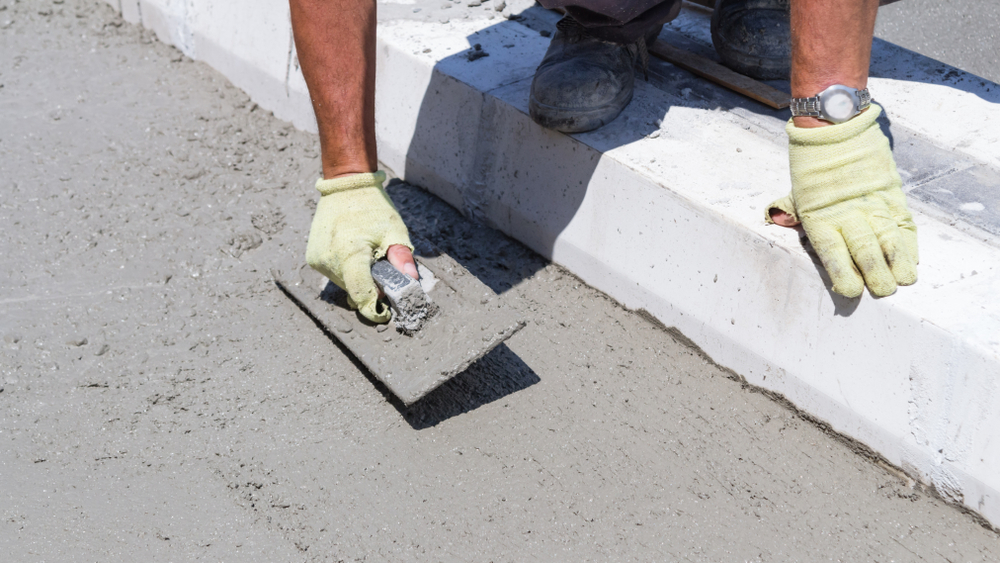 Repair options for settled concrete