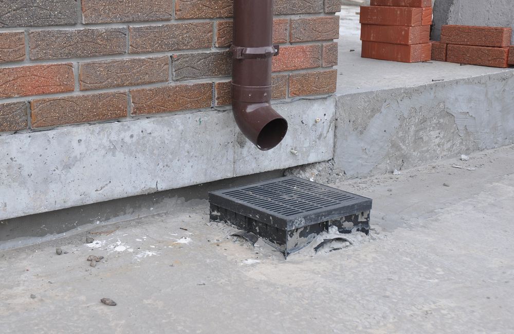 gutters protect concrete foundations