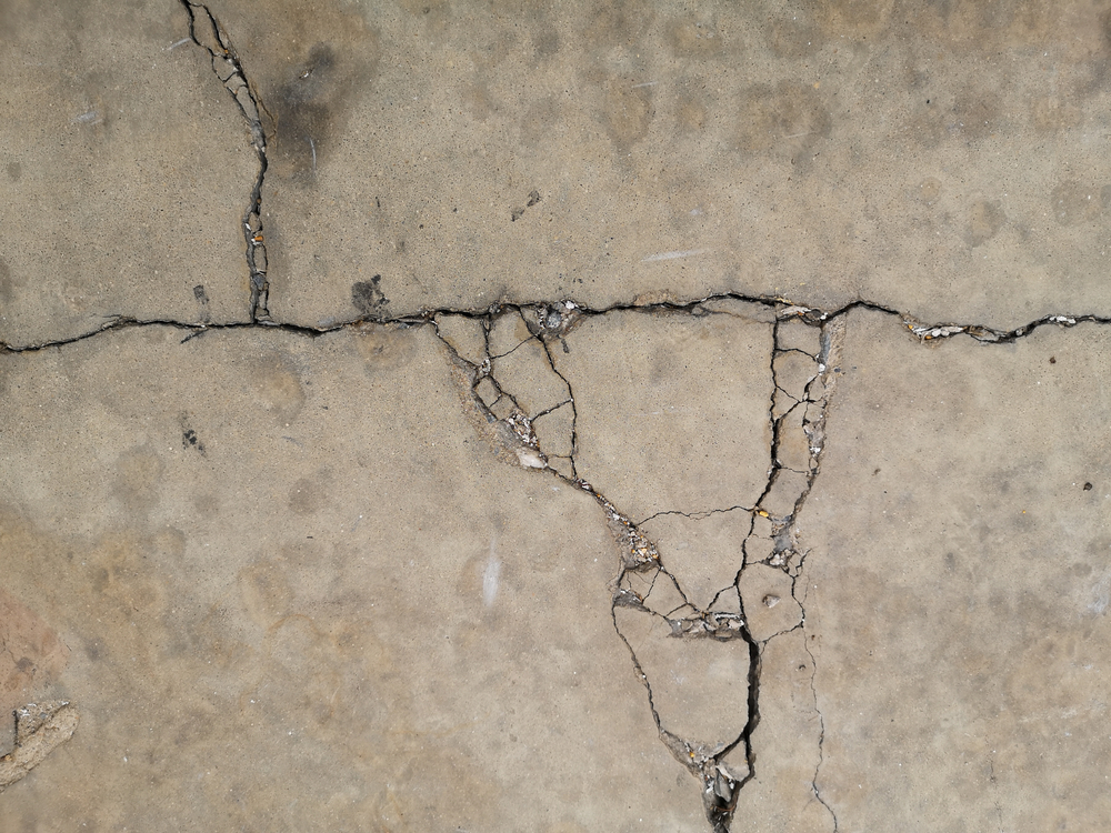 standing water concrete preventing issues