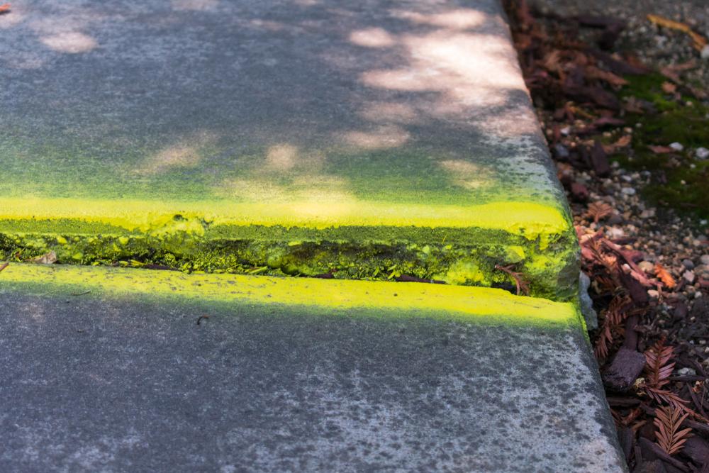 concrete trip hazards examples